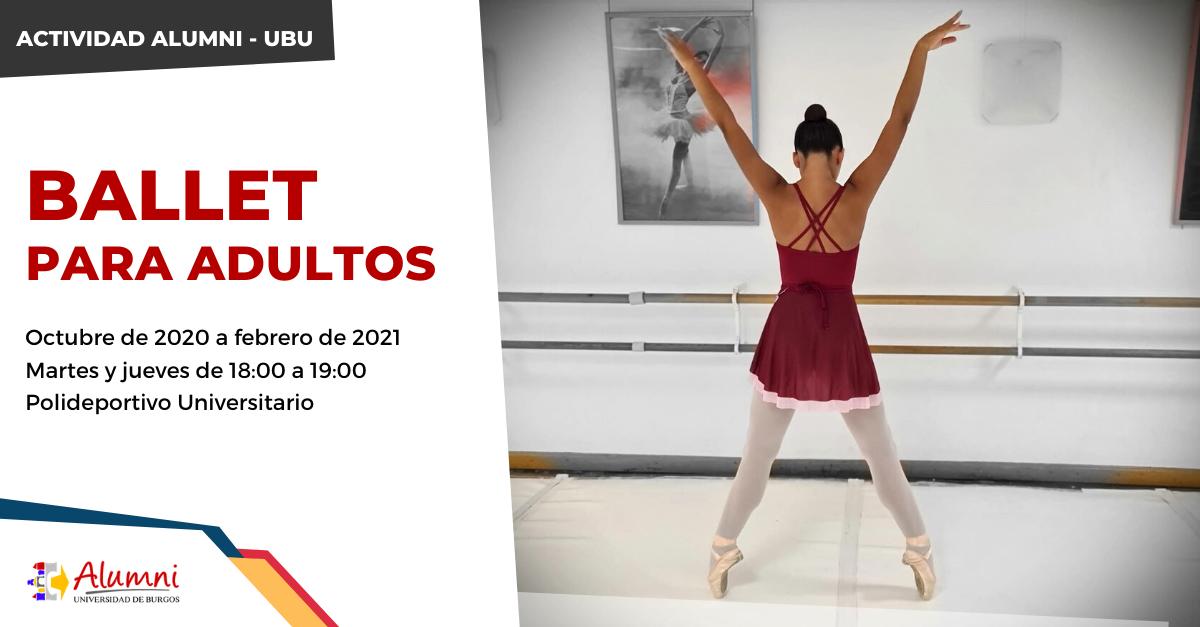 """Curso """"Ballet para adultos"""""""