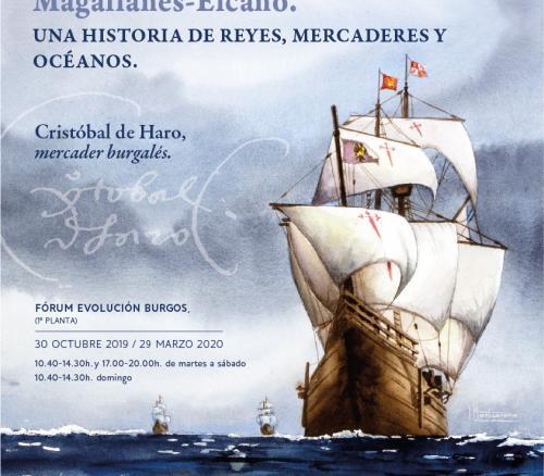 Burgos, legua cero del viaje de Magallanes-Elcano.